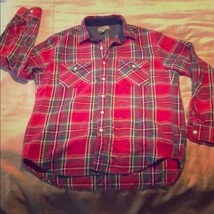 Wallace & Barnes Quality Flannel Button Down